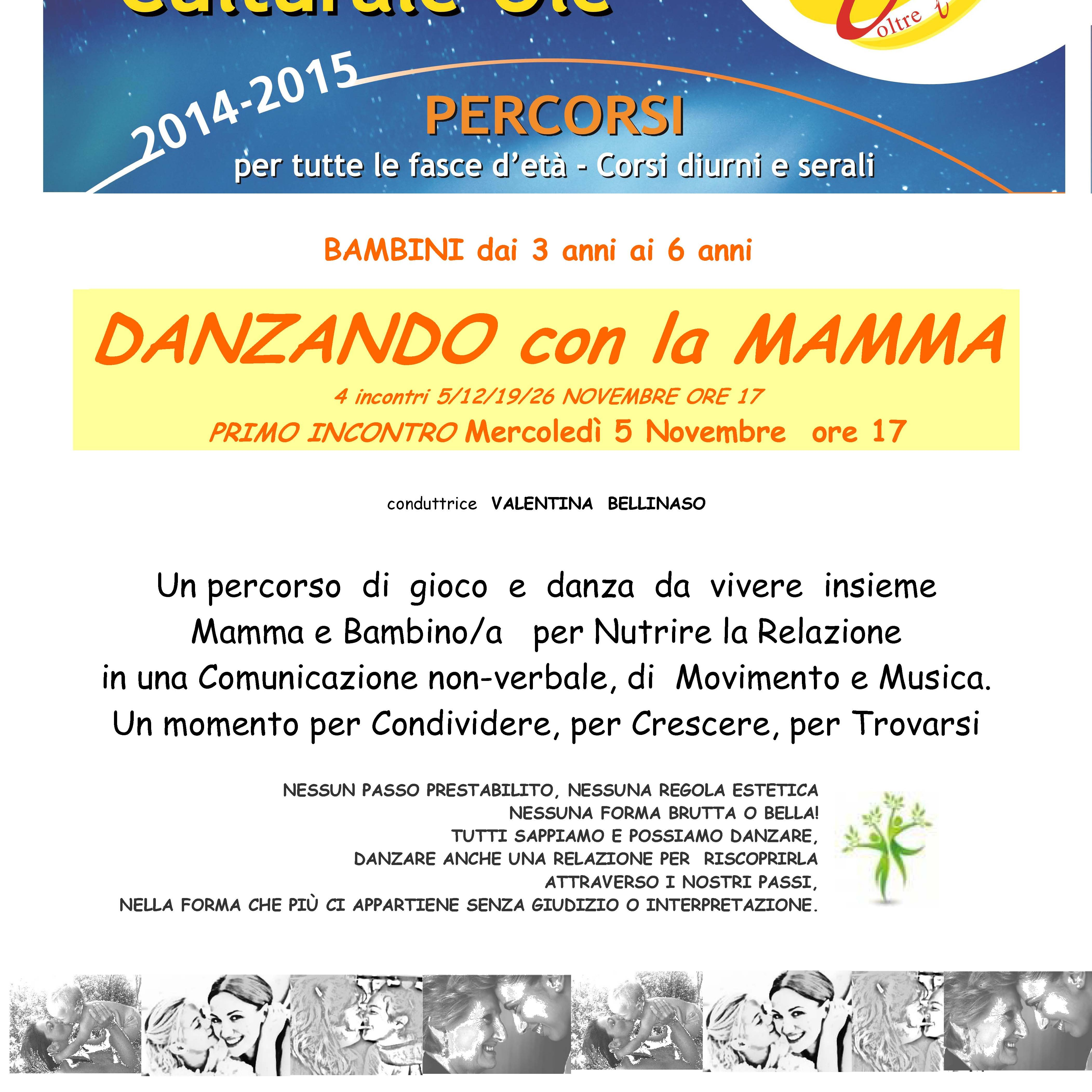 DANZANDO CON LA MAMMA